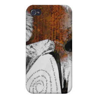 I Must Not Fear - Orange iPhone 4/4S Cover