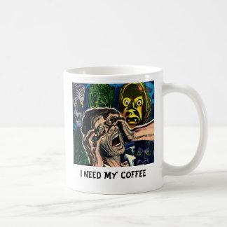 I Need My Coffee Comic Book Coffee Cup Mugs