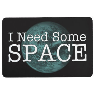 I Need Some Space Floor Mat Rug