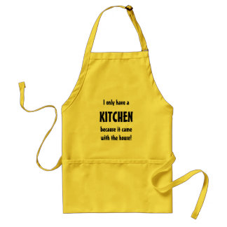 I Only Have a Kitchen Because it Came with the Hou Standard Apron