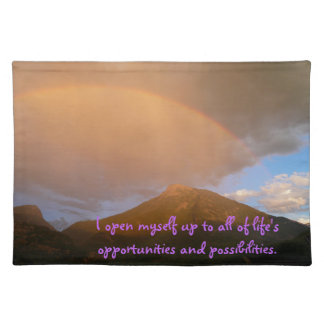 """""""I Open to Possibilities"""" Table Placemat"""