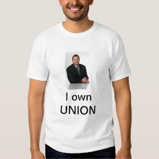 I own UNION T Shirt