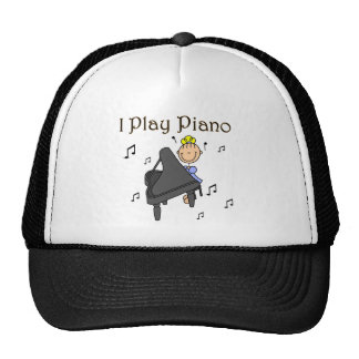 I Play Piano T-shirts and Gifts Hat