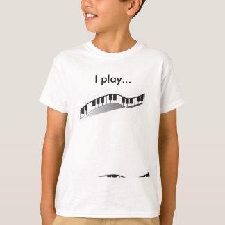 I play piano tshirt