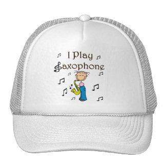 I Play Saxophone T-shirts and Gifts Trucker Hat