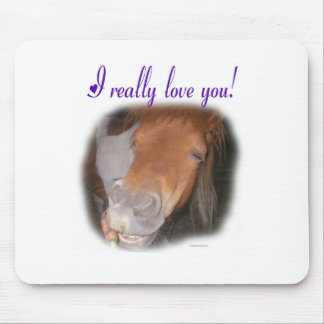 I really love you! mouse pad