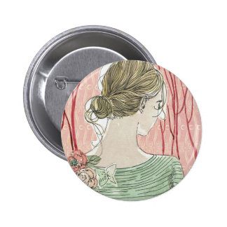 I remember the tenderness of you shoulders 6 cm round badge