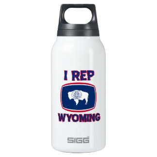 I  Rep Wyoming Insulated Water Bottle