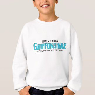 I Rescued a Griffonshire (Male) Dog Adoption Sweatshirt