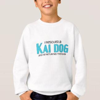 I Rescued a Kai Dog (Male Dog) Sweatshirt