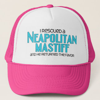 I Rescued a Neapolitan Mastiff (Male Dog) Trucker Hat