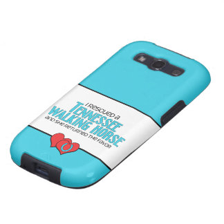 I Rescued a Tennessee Walking Horse (Female Horse) Galaxy S3 Cases