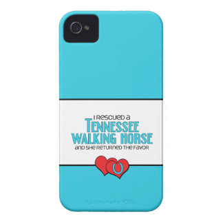 I Rescued a Tennessee Walking Horse (Female Horse) iPhone 4 Cover