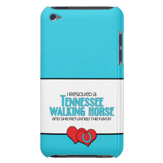 I Rescued a Tennessee Walking Horse (Female Horse) iPod Touch Case
