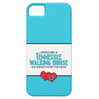 I Rescued a Tennessee Walking Horse (Female Horse) iPhone 5 Cover