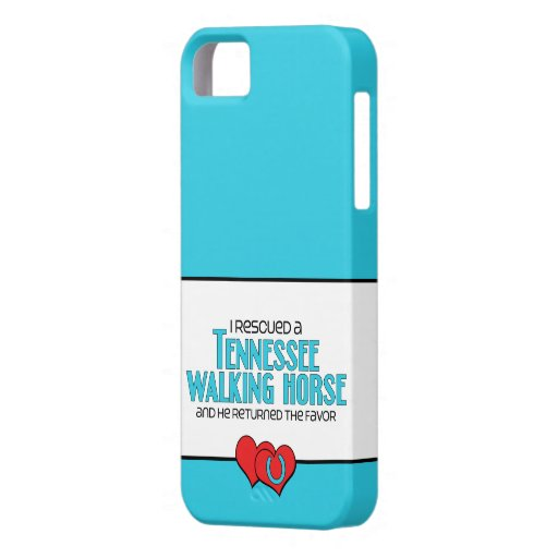 I Rescued a Tennessee Walking Horse (Male Horse) iPhone 5 Covers