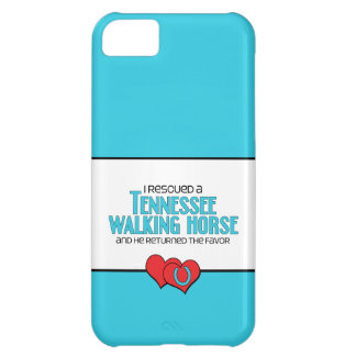 I Rescued a Tennessee Walking Horse (Male Horse) Cover For iPhone 5C