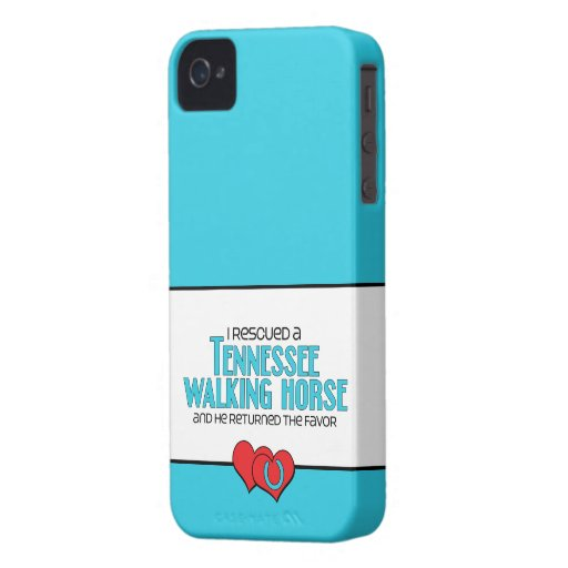 I Rescued a Tennessee Walking Horse (Male Horse) iPhone 4 Covers