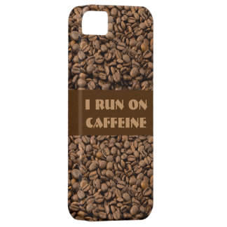 I run on Caffeine iPhone 5 Covers