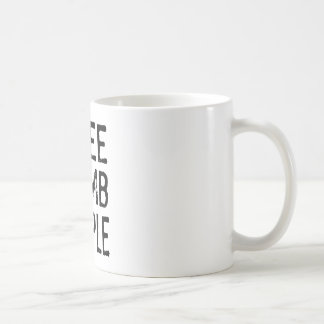 I See Dumb People Basic White Mug