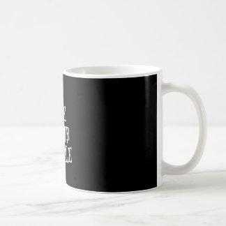I See Dumb People Coffee Cup Dark Heaven Rock 13 Basic White Mug