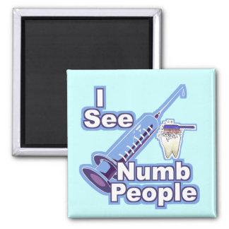 I See Numb People Magnet