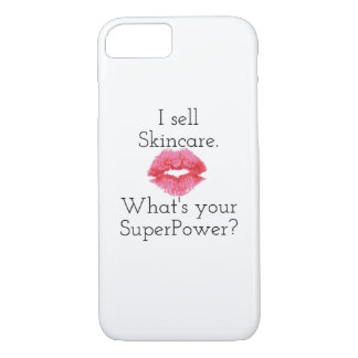I Sell Skincare. What's Your SuperPower? iPhone 8/7 Case