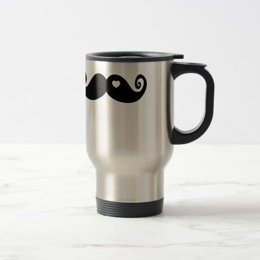 I simply love Moustache Mug