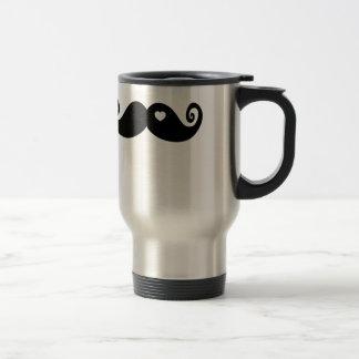 I simply love Moustache Travel Mug