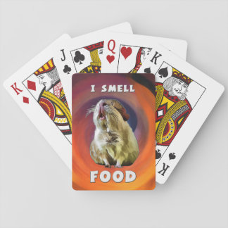 I Smell Food Playing Cards