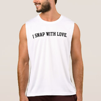 I Snap With Love Singlet