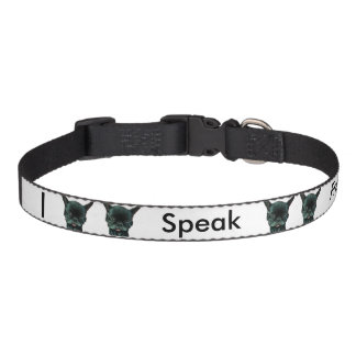 I Speak Frenchie Dog Collar