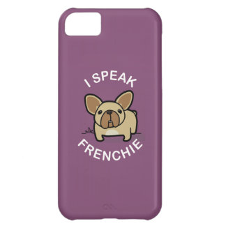 I Speak Frenchie - Purple iPhone 5C Case