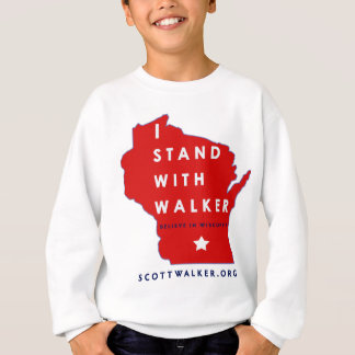 I Stand With Scott Walker Sweatshirt