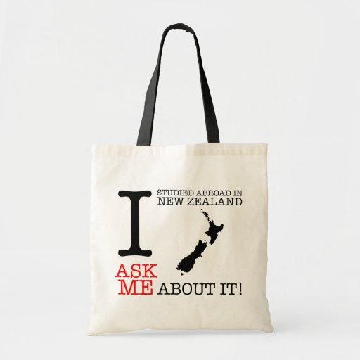 I Studied Abroad In New Zealand Tote Tote Bag