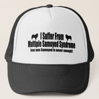 I Suffer From Multiple Samoyed Syndrome Trucker Hat