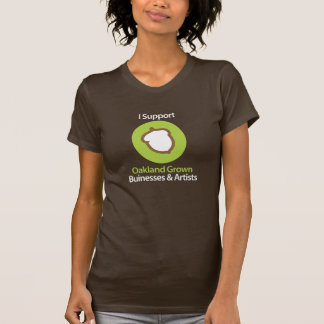 I support Acorn Only - URL on back - Customized T-Shirt