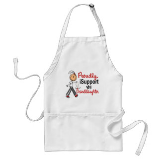 I Support My Granddaughter SFT (Bone / Lung Cancer Standard Apron