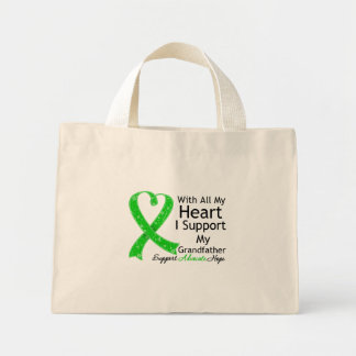 I Support My Grandfather With All My Heart Mini Tote Bag