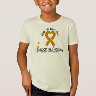 I Support My Mommy Appendix Cancer T-Shirt