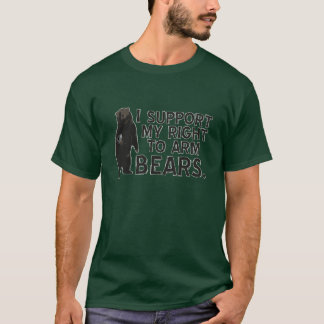 I Support My Right To Arm Bears T-Shirt