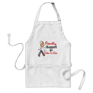 I Support My Sister-In-Law SFT (Bone / Lung Cancer Standard Apron