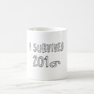 I survived 2016 coffee mug