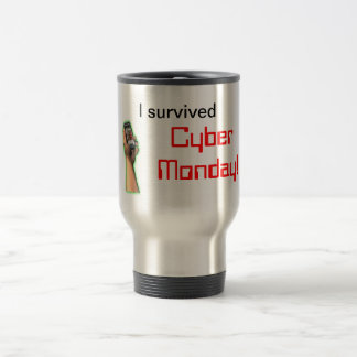 I survived Cyber Monday Coffee Mug