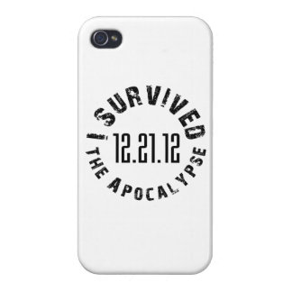 I Survived The Apocalypse- 12.21.12 iPhone 4/4S Case