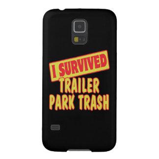 I SURVIVED TRAILER PARK TRASH GALAXY S5 CASES