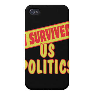 I SURVIVED US POLITICS COVERS FOR iPhone 4