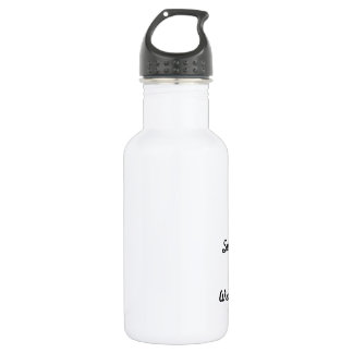 I survived wrestling! 532 ml water bottle
