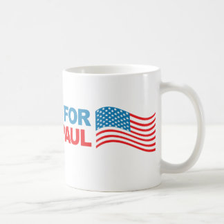 I vote Ron Paul - 2012 election president politics Basic White Mug
