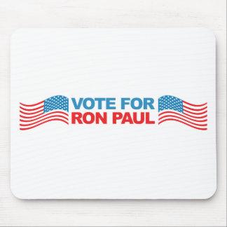 I vote Ron Paul - 2012 election president politics Mouse Pad